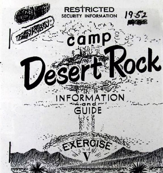 By September 1950, the 231st Engineer Battalion, from Grand Forks, Bottineau, Minot, and Cavalier, had been federalized and stationed at Ft Lewis, WA. A year later, the Battalion was sent to Nevada to begin construction on Camp Desert Rock Nevada Test Site, including fortifications at atomic test sites for explosions that began in October 1951. Personnel assigned to the camp were provided booklets that explained the importance of secrecy and were prohibited from discussing the tests, the military maneuvers, or any effects they felt from the tests. Troops kept their secrets well, as little is known about the experiences of the 231st Engineers at the camp.