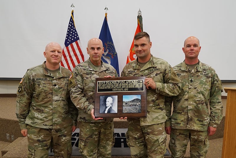 2019 Hamilton Award - N.D. National Guard