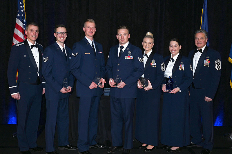 Airmen of the Year.