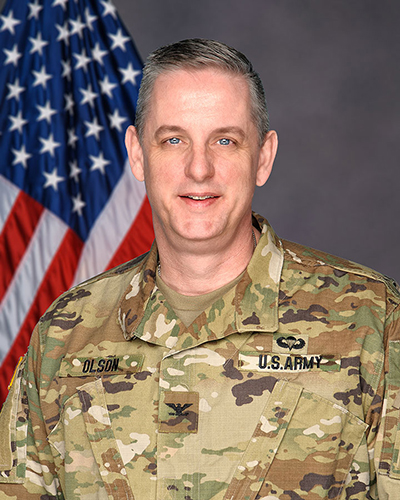 Col. James Olson