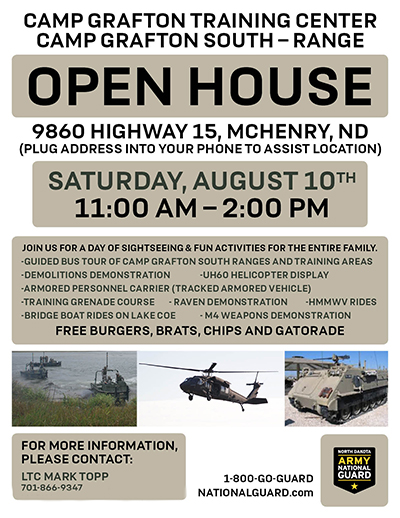 Camp Grafton Training Center South Open House